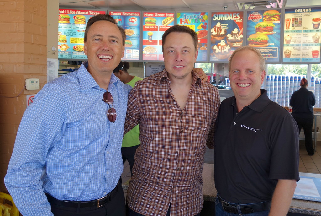 The obligatory Dairy Queen stop at the SpaceX McGregor Tex ...