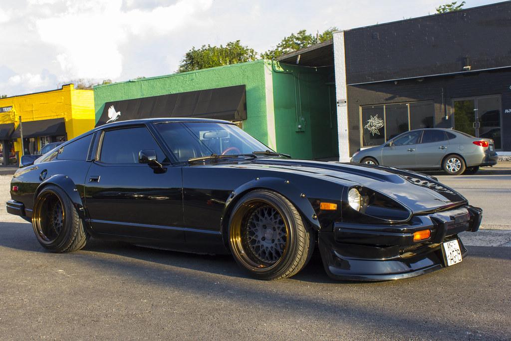 Datsun 240 Z >> Bagged Datsun 280zx | Rice Box 8/13/14 | Grant Ephross | Flickr