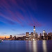 New York City Skyline Sunrise