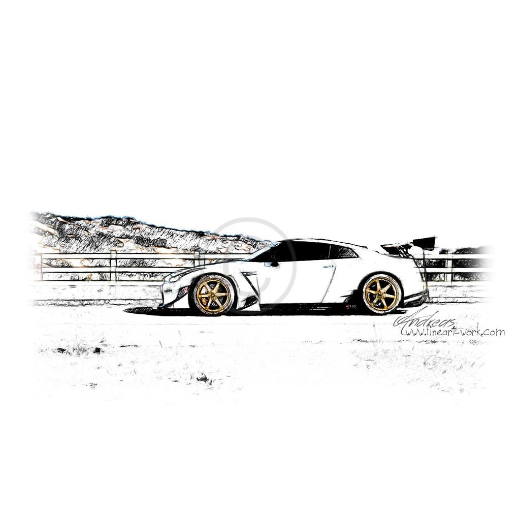 "Nissan GTR R35 ""Godzilla"" Tuning"