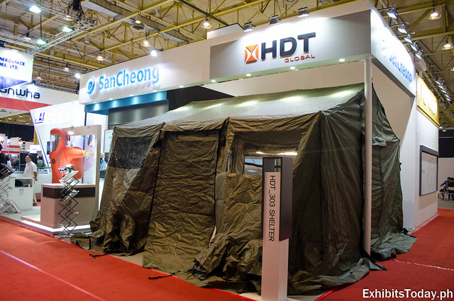 HDT Global Exhibit Booth