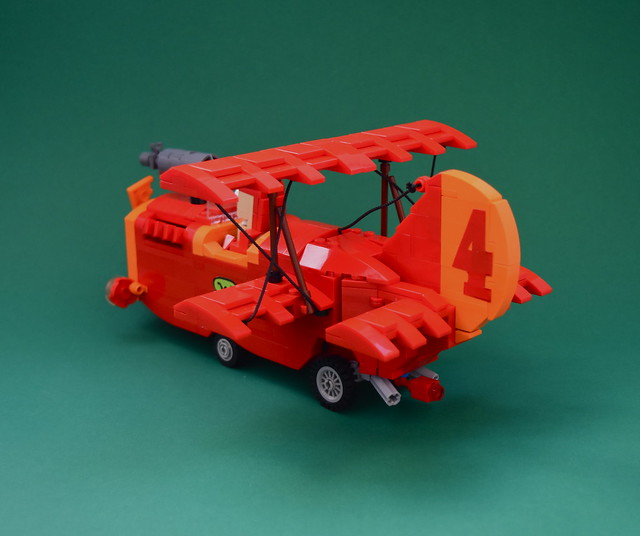 "Wacky Races "" the crimson haybaler """