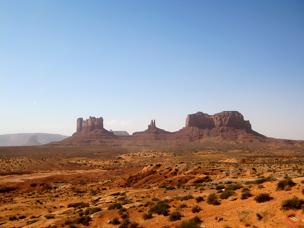 Monument valley (Utah, USA) | Monument Valley, a region of ...