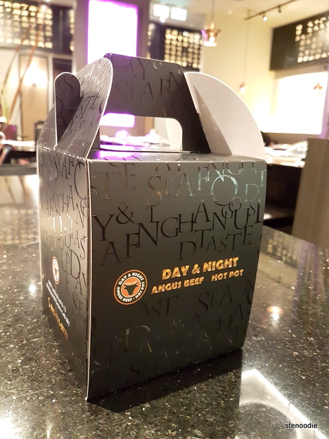 Day & Night take-out box