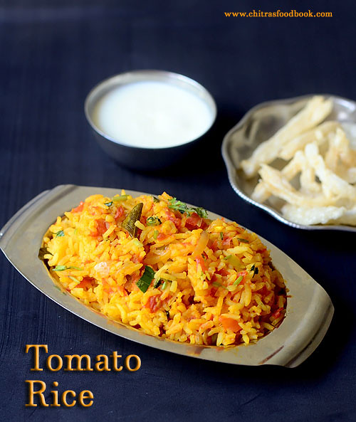 Tomato rice recipe / Thakkali sadam