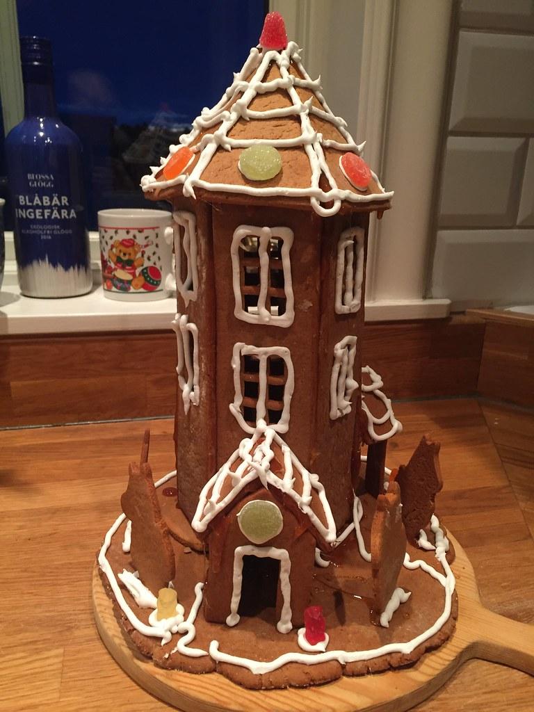 Nu är det jul igen pepparkakshus muminhuset