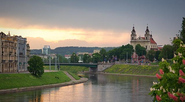 Sunset Vilnius - Lithuania