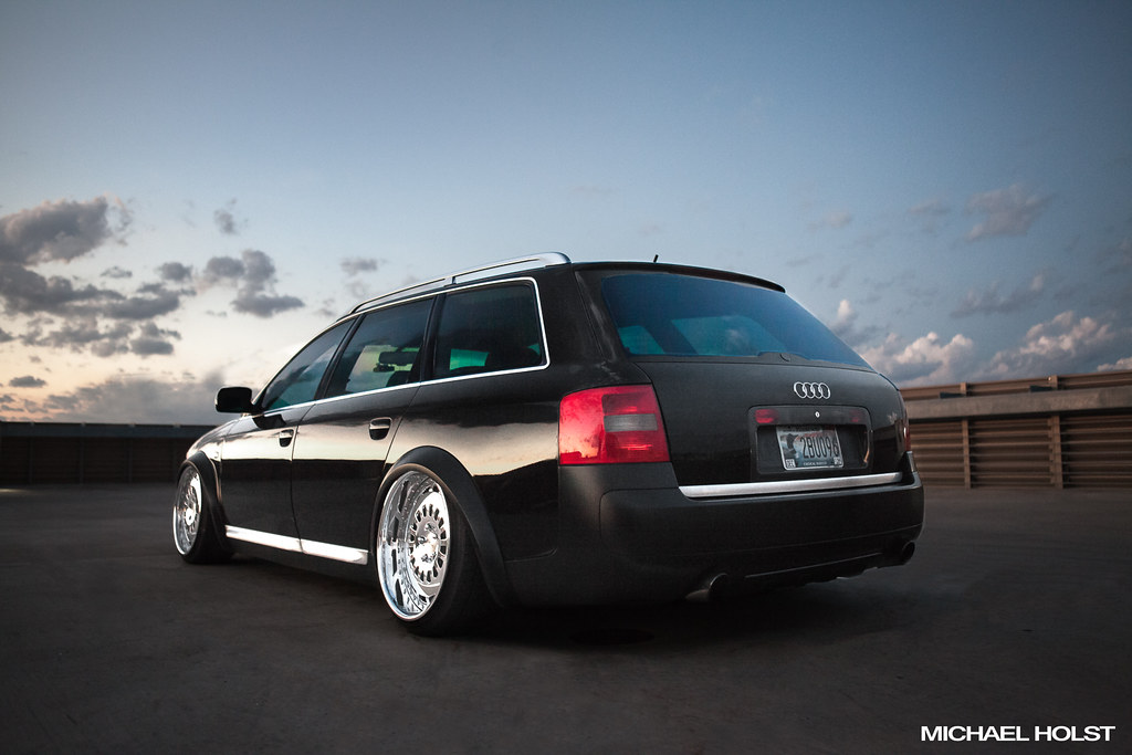 Stanced audi allroad audi allroad lowered on bags and roll flickr sciox Gallery