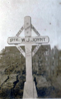 Sandy's photo of William Joynt's grave