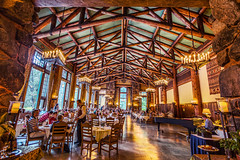 Time for Dinner at the Ahwahnee Dining Hall