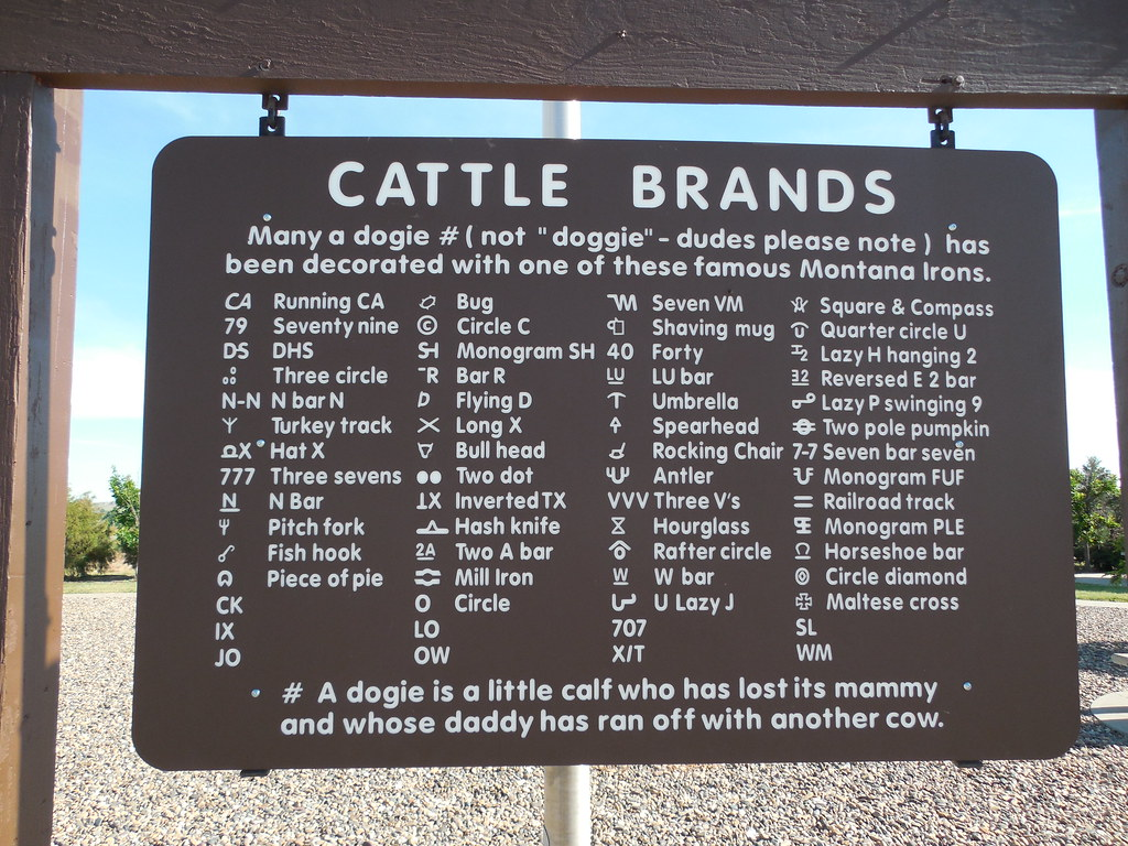 F Cattle Brand Cattle Brands Historic...