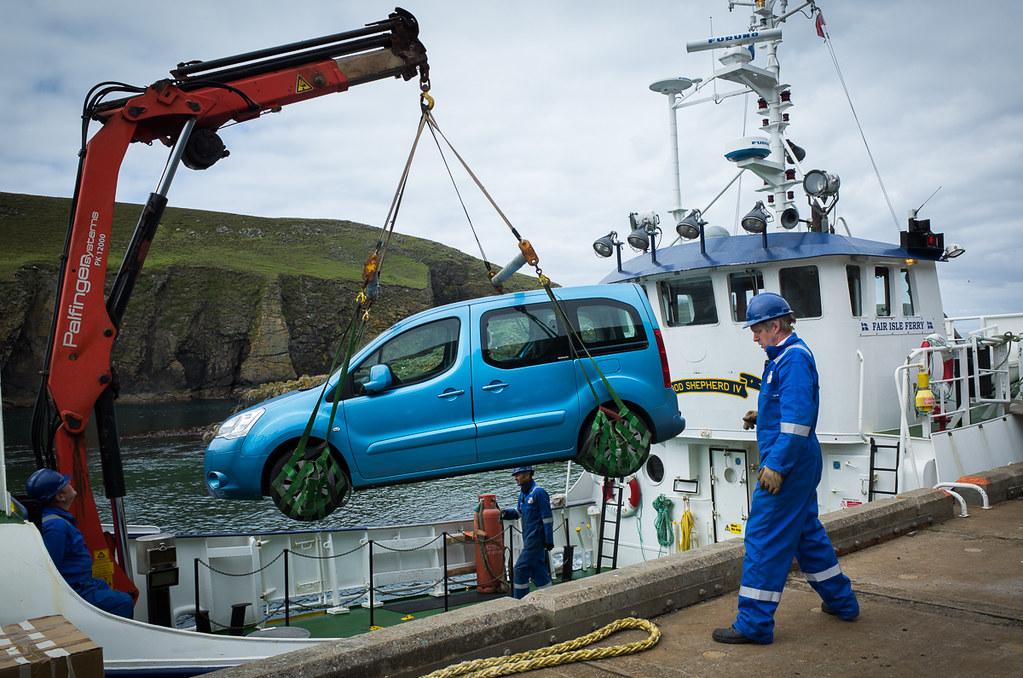 Offloading Fair Isle ferry | Shetland Islands, Great Britain… | Flickr