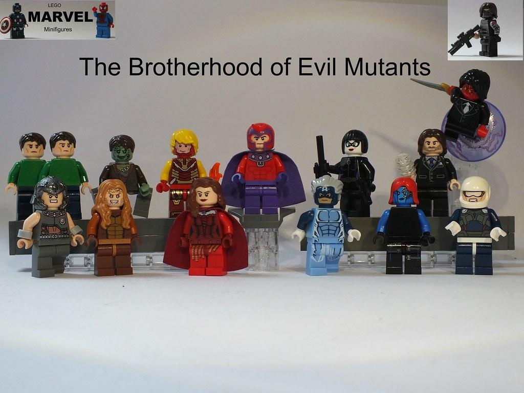 Image Gallery lego marvel mutants