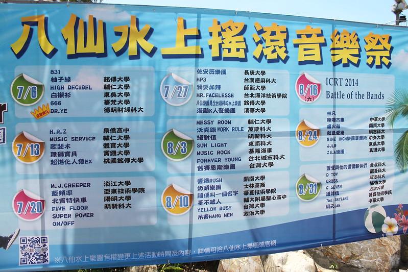 夏天。台北旅遊。八仙樂園 (31)