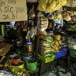 Street market at Ho Chi Minh