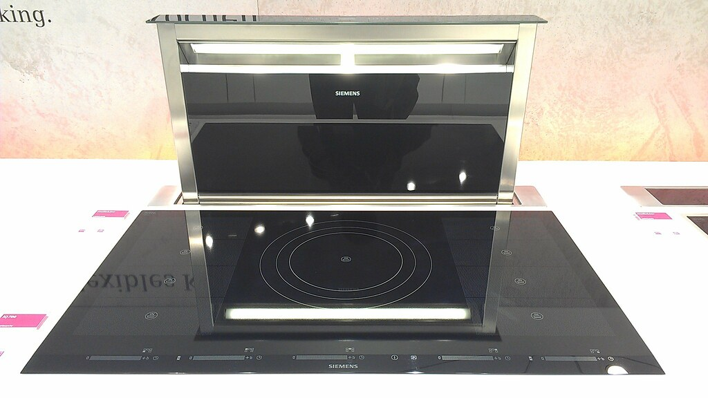 siemens iq700 induction cooktop and downdraft rangehood. Black Bedroom Furniture Sets. Home Design Ideas