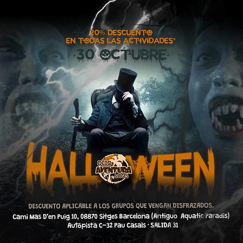 Halloween en Ocio Aventura con 20% Dto
