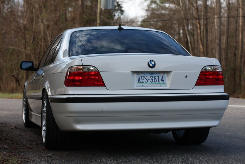 BMW M7 Price >> VWVortex.com - 2001 BMW E38 740i M sport alpine white 38k ...