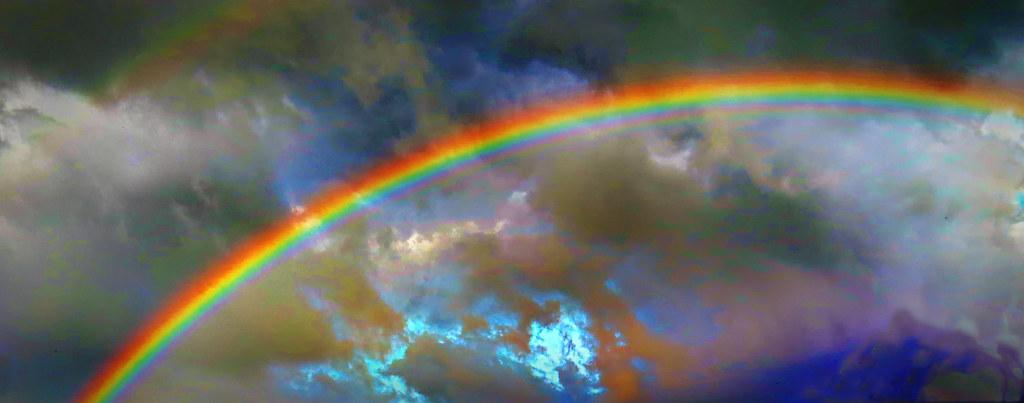 Popped rainbow