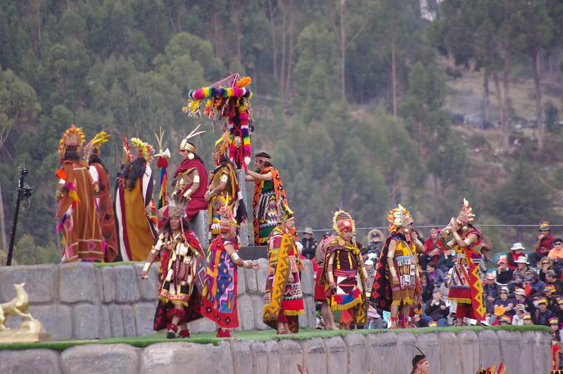 Inti Raymi 2014, Cusco, Peru