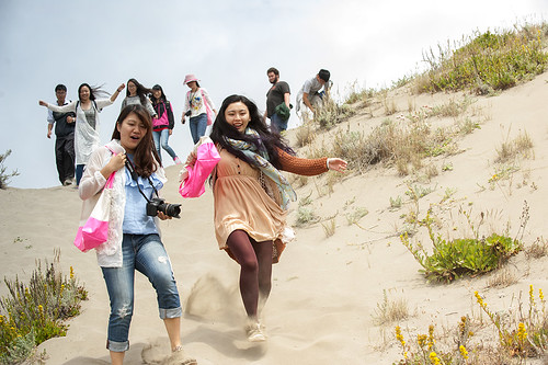 Sand dune fun | by Humboldt State University
