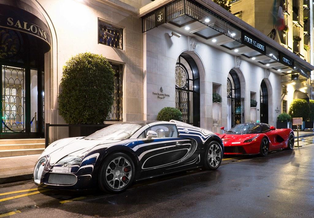Bugatti Veyron QuotL39Or Blancquot LaFerrari Wwwyoutubecom