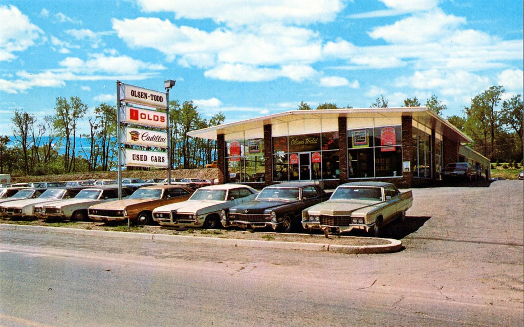 Old Car Dealership Photos