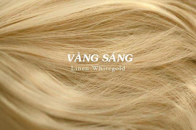 Mầu tóc vàng sáng