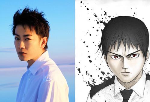 161104 -「佐藤健」永井圭是實習醫生!真人電影《亞人》宣布2017年上映、由『劍心』特效團隊製作!