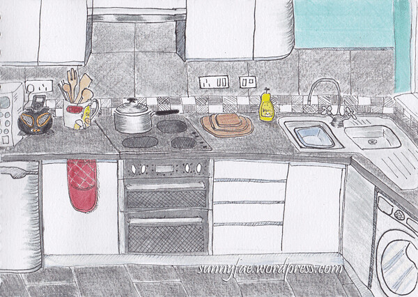 kitchen-drawing