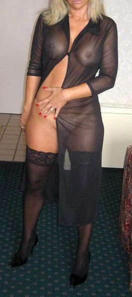 Sexy mature big tit blow job