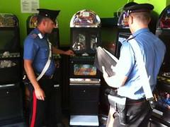 carabinieri controlli sale slot