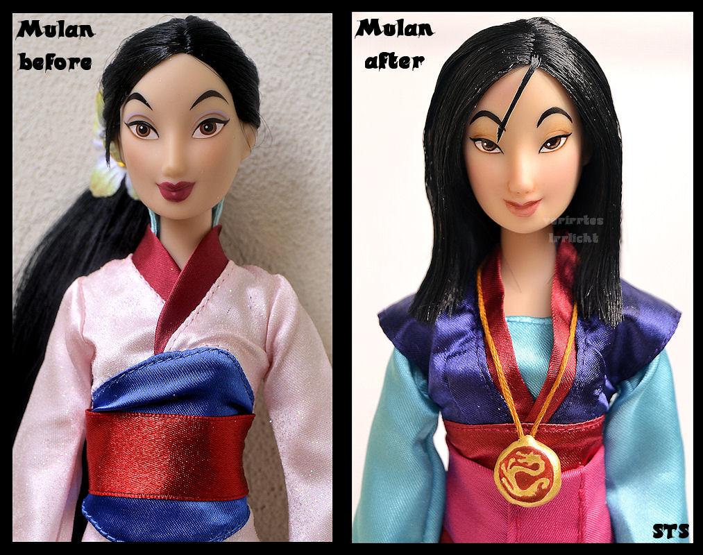 Repainted Ooak Mulan The Girl Who Saved China I Ve