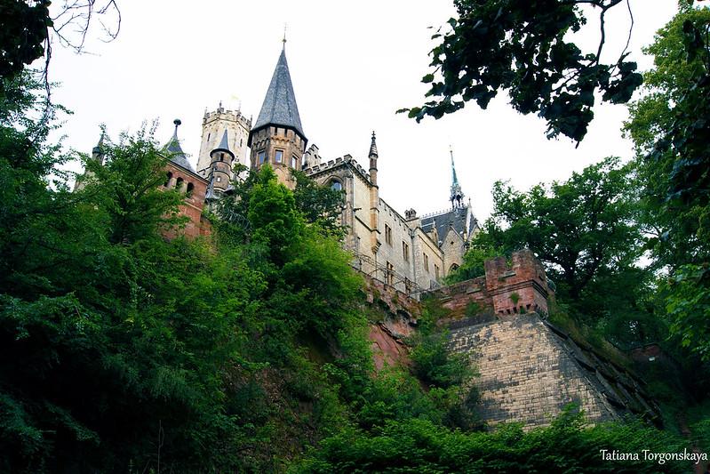 Пейзаж с замком Мариенбург