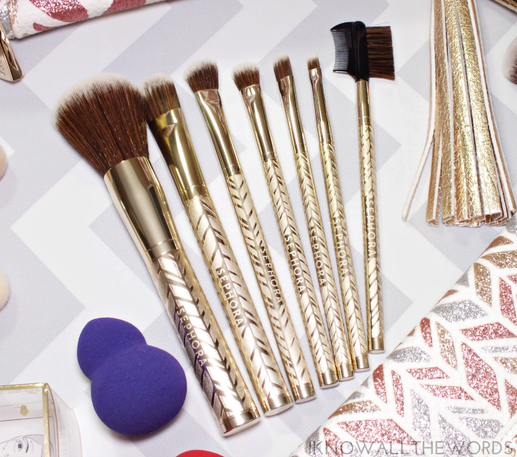 sephora collection sparkle & shine antibacterial brush set (2)
