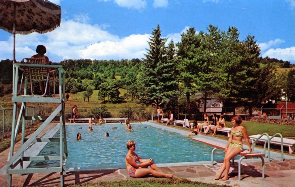 Twin Pines Camp swimming pool Stroudsburg PA