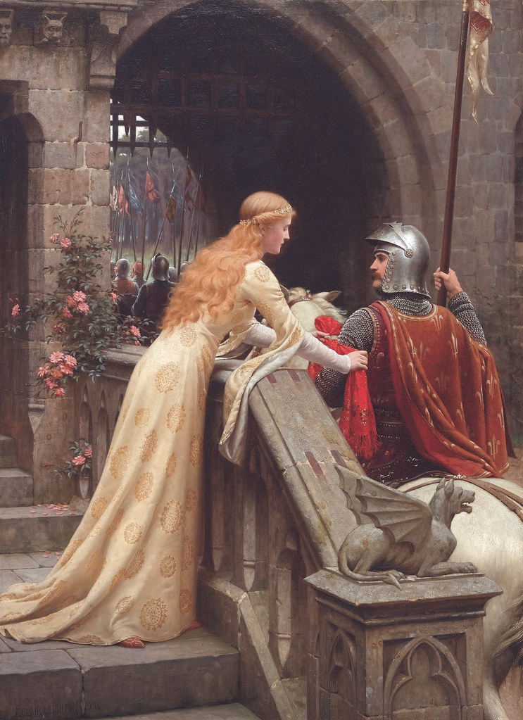 God Speed! by Edmund Blair Leighton, 1900