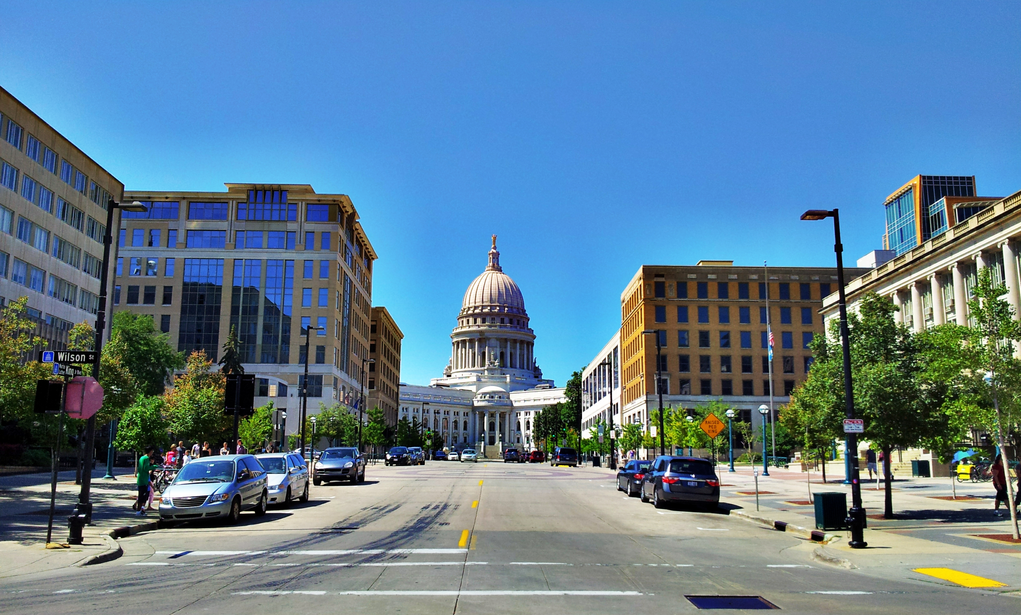 Reflecting Madisons Changing Capitol >> Madison Wisconsin Applied Science