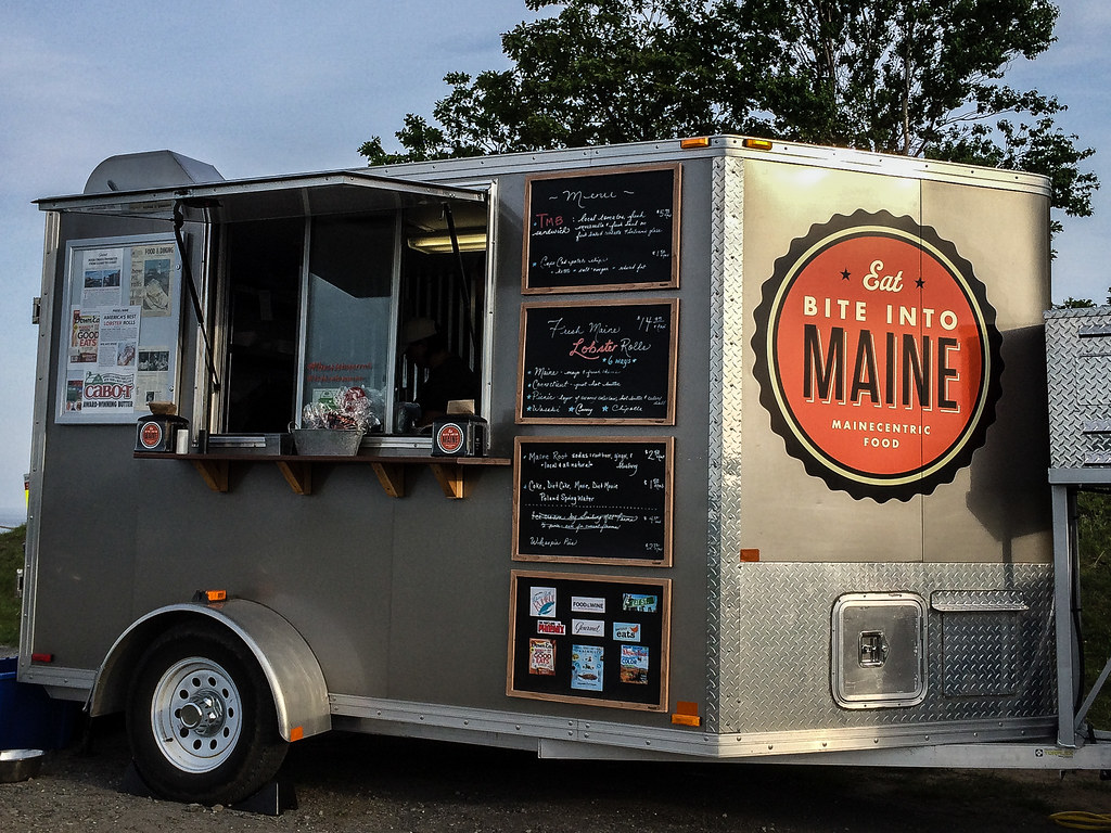 Bite into maine food truck portland maine john buie for Bar 96 food truck