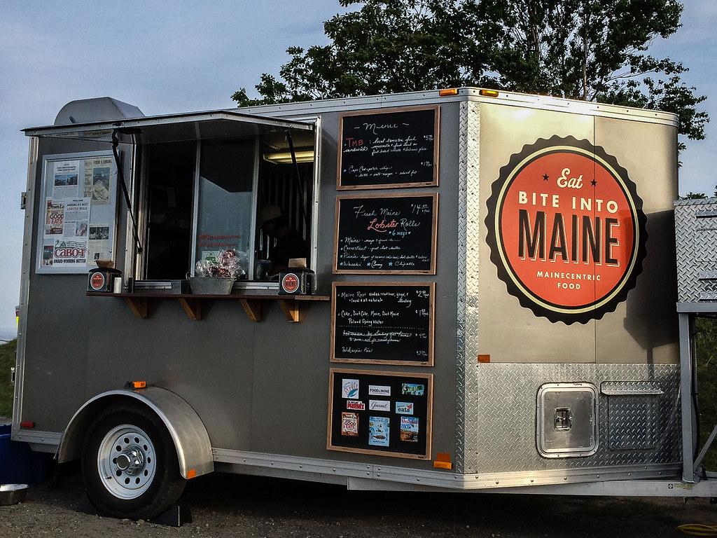 Bite into maine food truck portland maine john buie for Bar 96 food truck