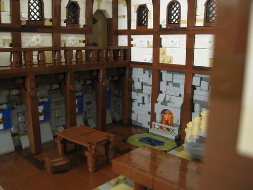 Inside the Blue Shield Inn