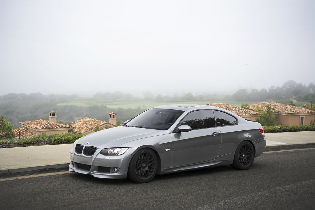 Charcoal Gray Bmw 335i On Black Vmr Wheels Took A Few