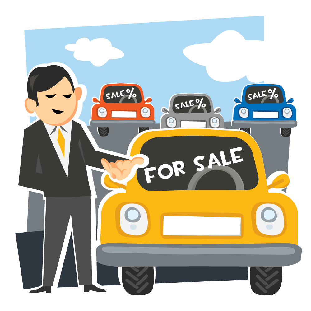 car salesman with car illustration showing a car salesman flickr. Black Bedroom Furniture Sets. Home Design Ideas