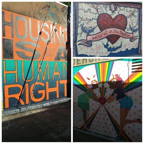 More Clarion Alley murals getting their message across through art.