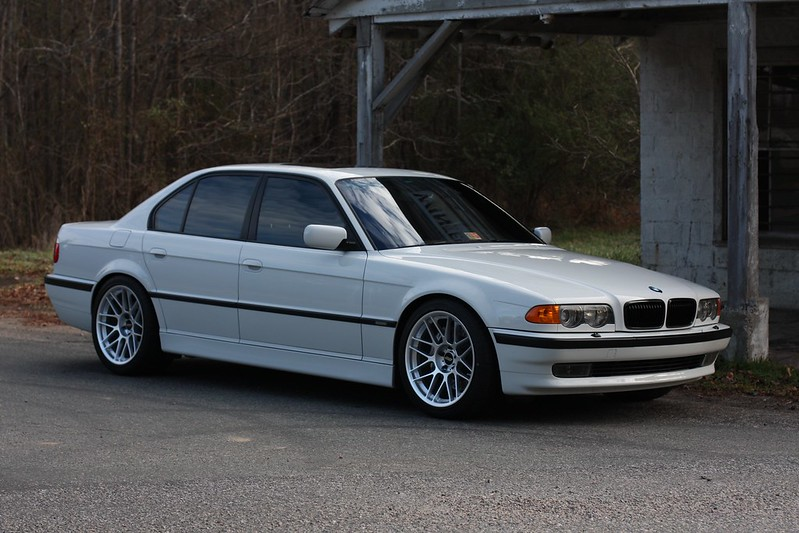 2001 bmw e38 740i m sport alpine white 38k miles. Black Bedroom Furniture Sets. Home Design Ideas