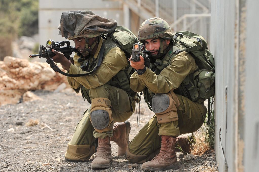Kfir Brigade Soldiers At The Urban Warfare Center Photo