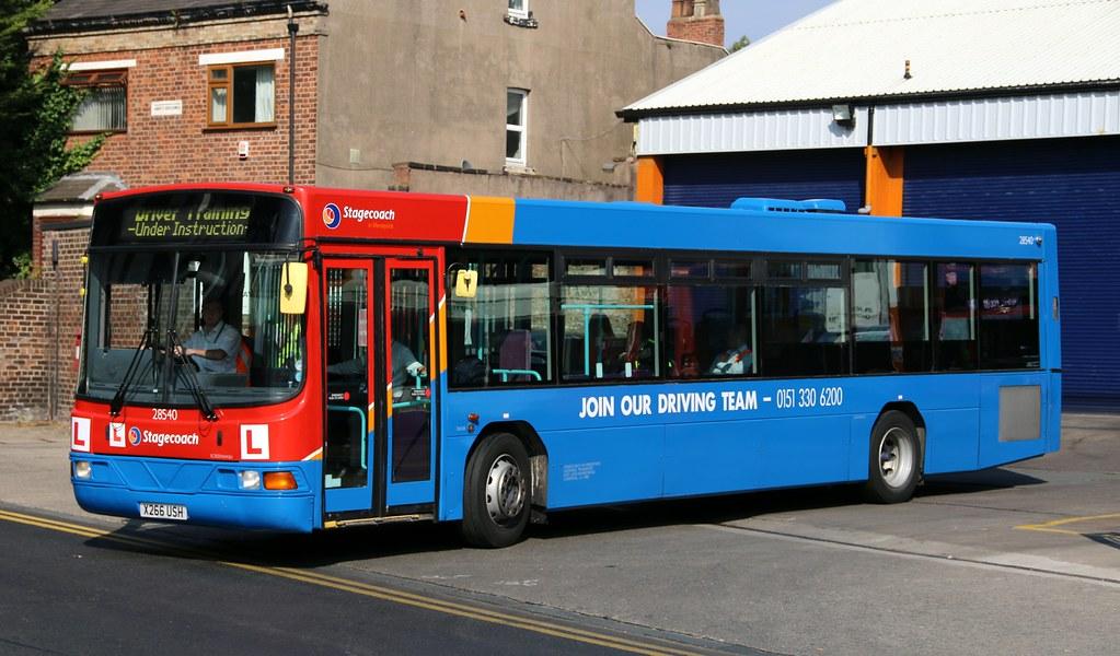 Stagecoach Merseyside Glenvale Transport 28540 X266 Ush