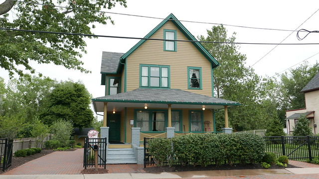 in the event that some of you have been living under a rock hi rock people and are somehow unfamiliar with it just turn on your tv seriously - Christmas Story House