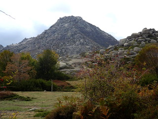 Le Castellu d'Urnucciu depuis les bergeries de Chiralbedda