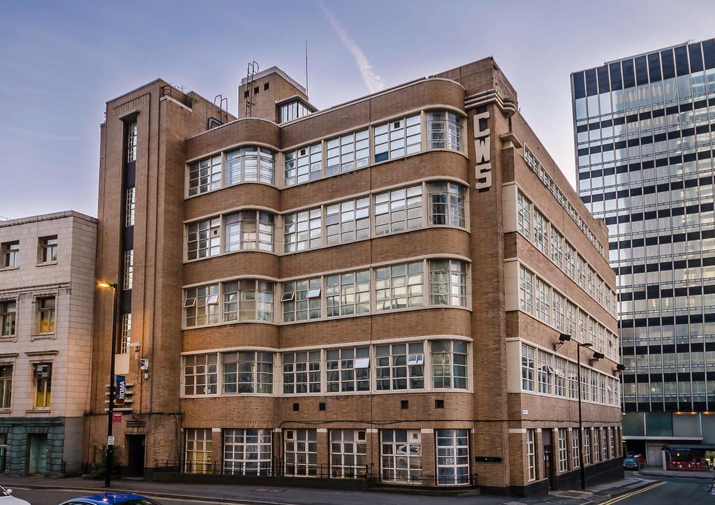 Redfern Building Dantzic Street Manchester Cws Redfern